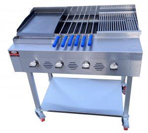 4 burner grill 1