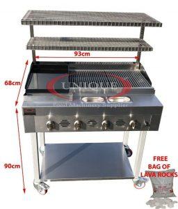 4 burner grill 2