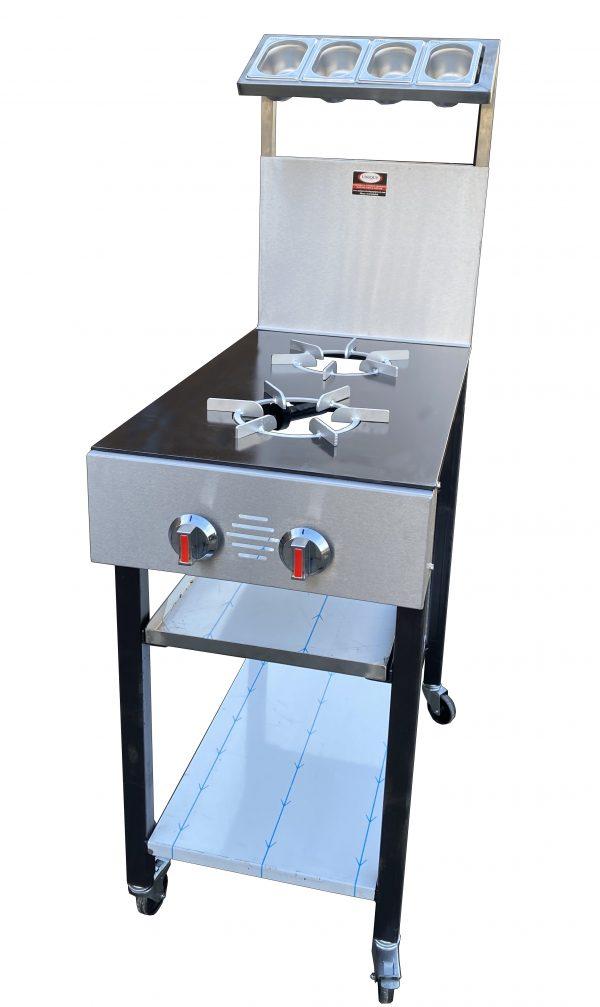2 Burner Commercial Gas Cooker