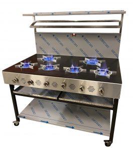 6 Burner cooker