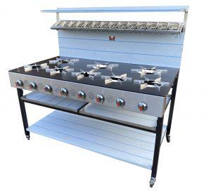 8 burner cooker 2